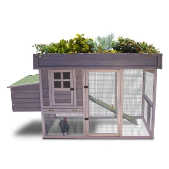 GARDEN TOP HEN HOUSE